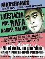 Familiares y amigos de Rafa Nahuel Salvo convocan a una nueva marcha exigiendo justicia