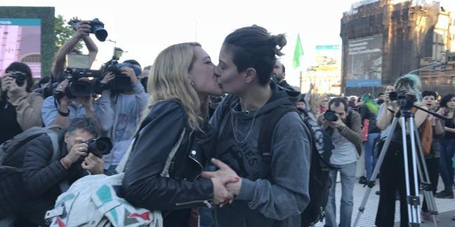 #BesosLesbianos Proc...
