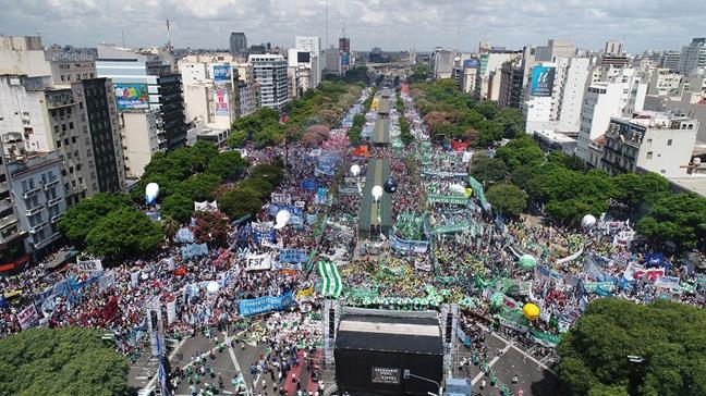 #Marcha21F: un fuert...