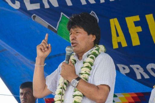 Presidente Morales ...