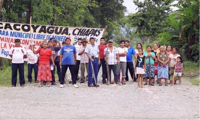 Indígenas de Chiapas...