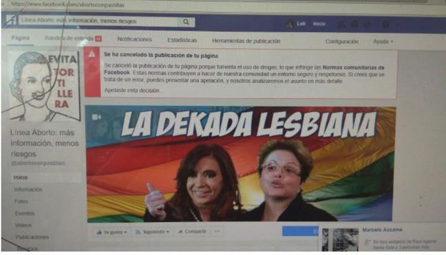 #Censura Facebook ce...