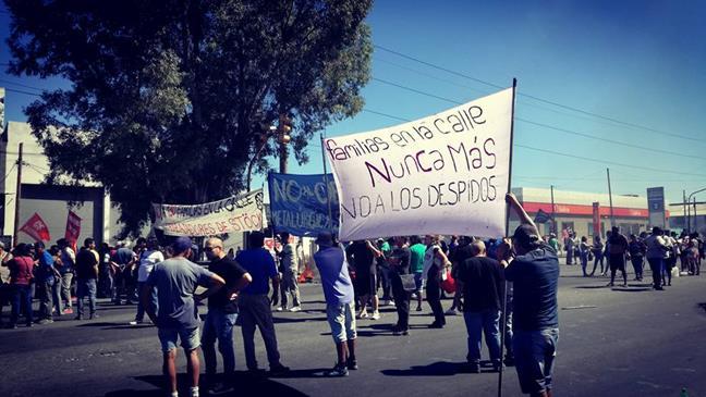 Manifestación de los...