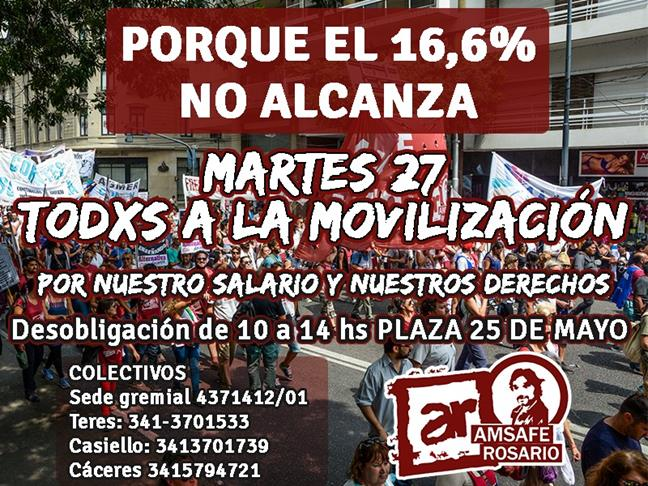Movilización martes ...
