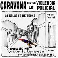Caravana contra la represión policial
