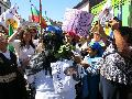 El día en que la mujer mapuche llegó al Congreso
