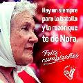 Hoy cumple 88 años Nora Cortiñas