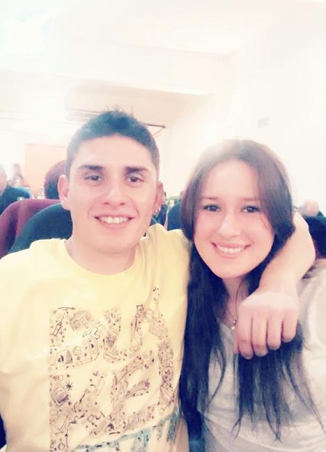 Ludmila y Fernando...