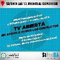 Trabajadores de la TV Pública realizarán un noticiero abierto frente al Congreso