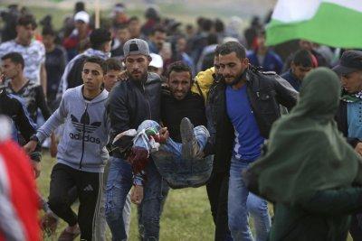 La matanza de Gaza...