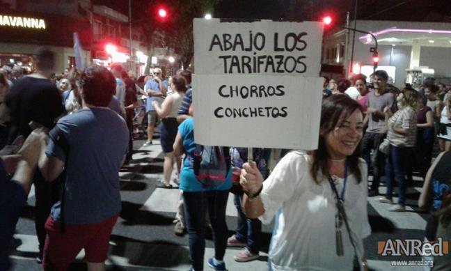 Protesta contra las ...