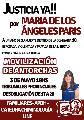 Justicia por María de los Ángeles Paris: nueva marcha de antorchas
