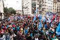 La Marcha Federal ratificó la política de unidad y tuvo un paso multitudinario por Córdoba