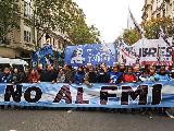 La CTA Autónoma marchó contra el acuerdo con el Fondo Monetario Internacional