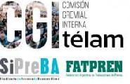 Agencia Telam: La Asamblea reclama un 25% de aumento salarial y rechaza la censura