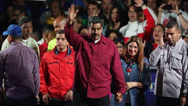 Maduro gana presiden...