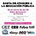 Los Profesorados vuelven a movilizarse contra la Unicaba