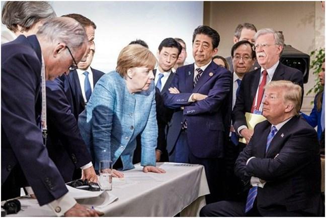 La foto del G7 que l...