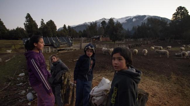 Comunidad mapuche es...