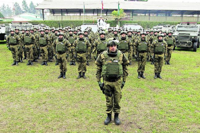 El Comando Jungla...