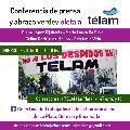 Conferencia y abrazo en Télam La Plata