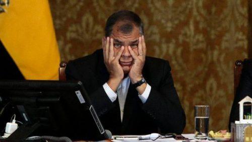 Ecuador: Rafael Corr...